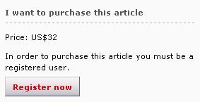"""Screenshot von der Website der Zeitschrift """"Nature"""""""
