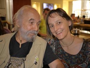 Mit Chico Withaker im Januar 2012, Porto Alegre