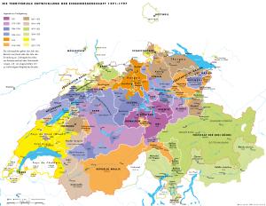 Territoriale-Entwicklung- Alte EidgenossenschaftCH
