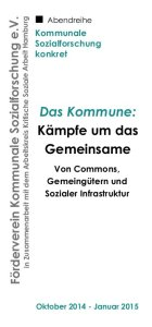 Das Kommune abendreihe_flyer_cover