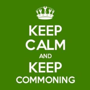 Keep Calm and Commoning