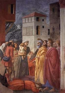 masaccio_-_the_distribution_of_alms_and_the_death_of_ananias_-_wga14184